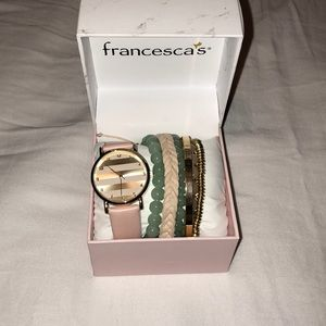 Francesca's Watch Set
